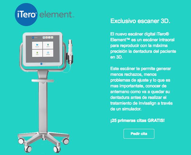 Escaner 3D iTero