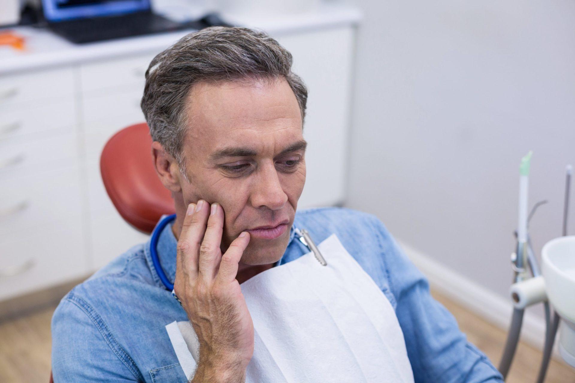 Dolor de muelas y el nervio dental